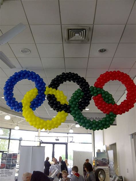 36 Best Images About Olympics Decorations On Pinterest