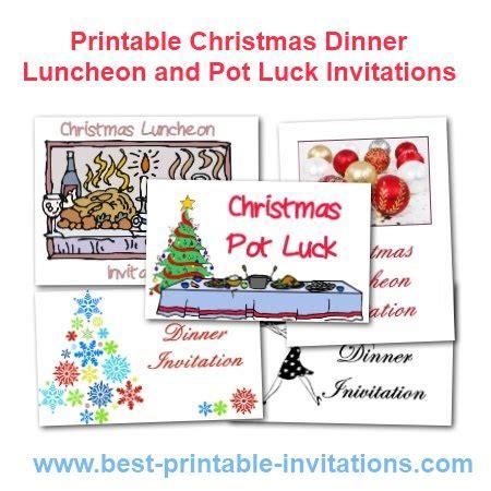 exclusive christmas potluck invitation ideas theruntime com