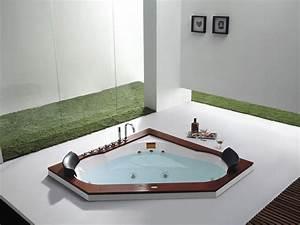 Baignoire D Angle 135x135 : baignoire baln o habitat et jardin baignoire baln o d ~ Edinachiropracticcenter.com Idées de Décoration
