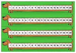 printable number line k 3 resources