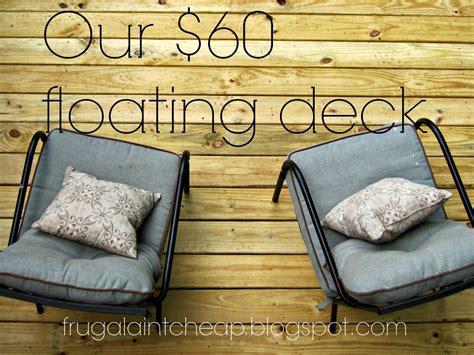 hardest wood floor coating frugal ain 39 t cheap diy floating deck