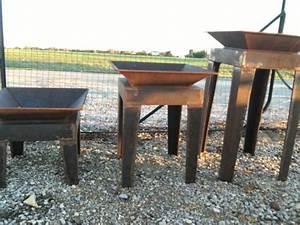 Brasero En Pierre : brasero fer et pierre ferronnerie d 39 art carreaux de ciment ~ Nature-et-papiers.com Idées de Décoration