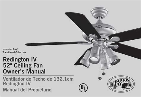 Hton Bay Ceiling Fan Wall Manual by Replace Ceiling Fan Light Kit Bobded Or Attached