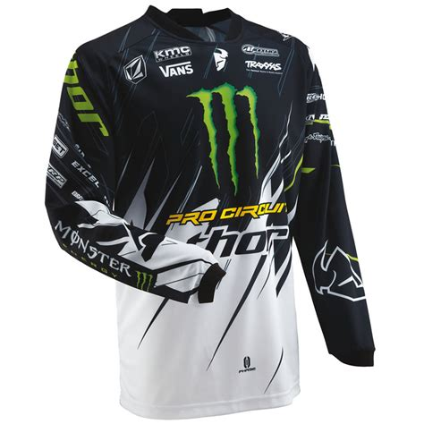 monster energy motocross gear tuta motociclista thor 2013 phase s13 per motocross