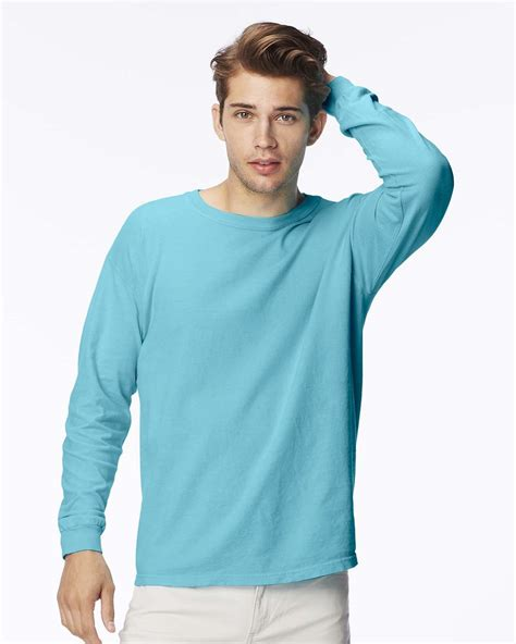comfort color shirts comfort colors 5014 pigment dyed ringspun sleeve t