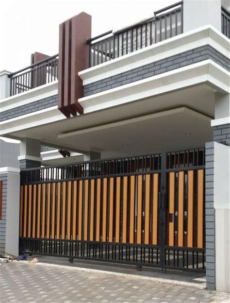 gambar pagar rumah grc desain rumah