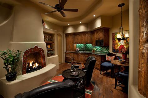 Attached Guest Casita   Traditional   Family Room