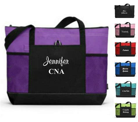 personalized tote bag bride bridesmaid gift teacher nurse purse wedding party ebay
