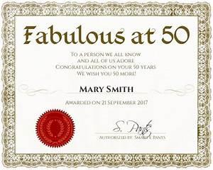 Certificate template for Fabulous achievement