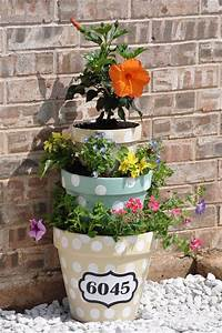 Diy, Flower, Towers, You, Can, Make, Yourself, To, Beautify, Your, Yard