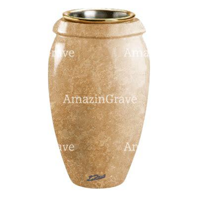 vasi marmo vasi portafiori per lapidi e tombe in marmo travertino