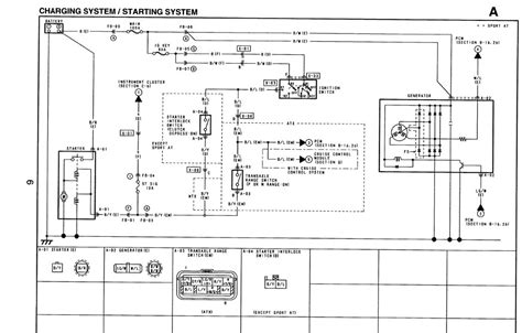 1997 Mazda Protege Radio Wiring Diagram by Mazda Protege Not Charging I Give Up Pennock S Fiero Forum