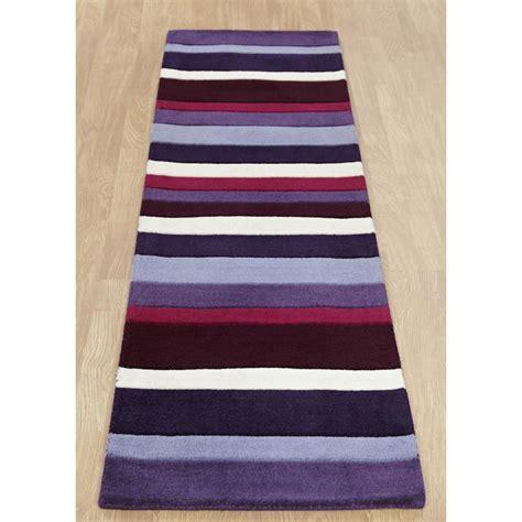 Karpet Bludru Jazz jazz stripes purple wool rug only available at carpet