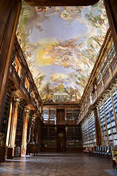 Libraries Clementinum Library Hall Europe Prague Second