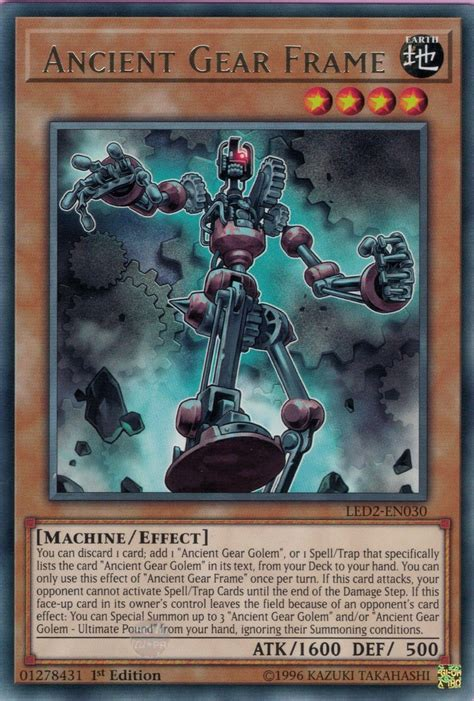 Ancient Gear Frame Yu Gi Oh Fandom Powered By Wikia