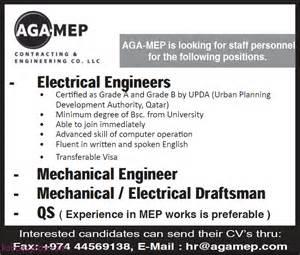 Electrical Engineers Mechanical Engineer Draftsman