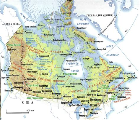 canada map map pictures