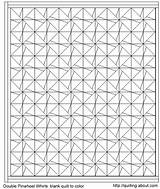 Quilt Coloring Pattern Quilting sketch template