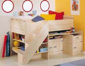 Brilliant small cabin beds for kids bedroom set design for Brilliant small kids beds
