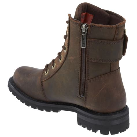 harley boots harley davidson womens stylewood leather boots brown