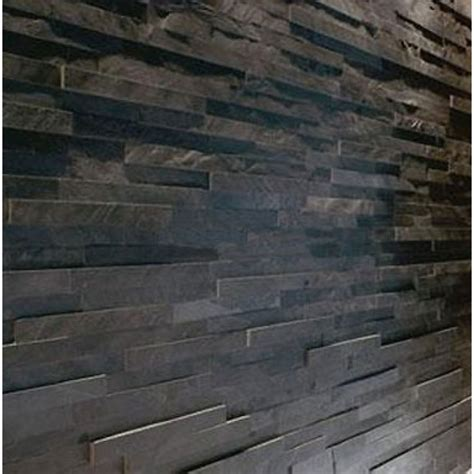 slate wall tiles kitchen sle black slate split mosaic tile 5328