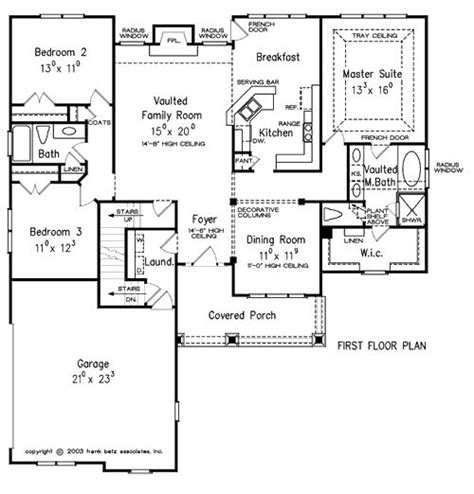 Frank Betz Cunningham Floor Plan by Oxnard Home Plans And House Plans By Frank Betz