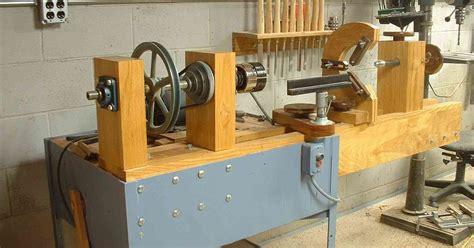 riache richwood detail mini lathe stand woodworking plan