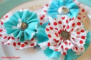 Blume Aus Frühstückstüten : diy blumen zum muttertag stoffblume n hen blumen n hen ~ Watch28wear.com Haus und Dekorationen
