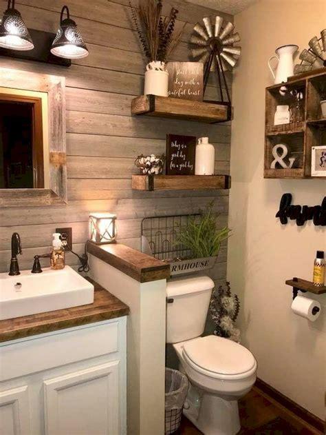Rustic Themed Bathroom by 81 Top Rustic Farmhouse Bathroom Ideas Carribeanpic