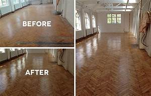 sanding and floor varnishing service for london schools With parquet polishing