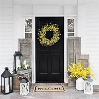 front door decorating ideas Doorways are for decorating. | Spring is in the Air | Pinterest | Decorating, Porch and Front ...