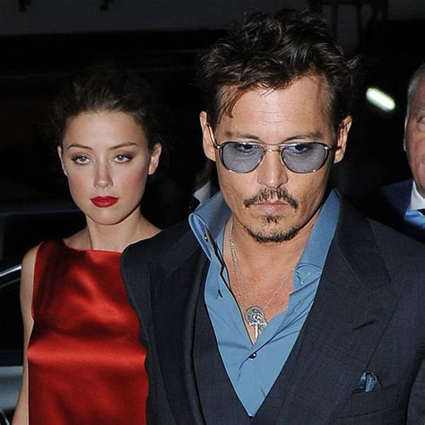Johnny Depp and Amber Heard engaged - report | Celebrity ...