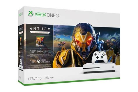 xbox one microsoft and ea will release an anthem xbox one
