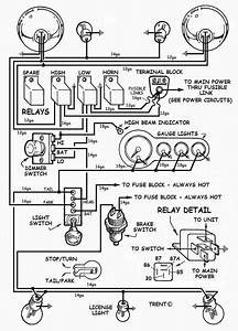Basic Street Rod Ignition Switch Wiring Diagram