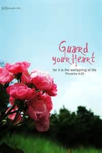 Guard Your Heart Proverbs Bible Verses