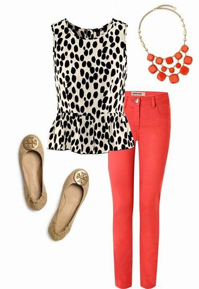 Outfits Spring Casual Summer Pants Polyvore Wear