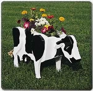 U-Bild Planter Plans In Shape Of Cow, Sheep, Pig, Donkey