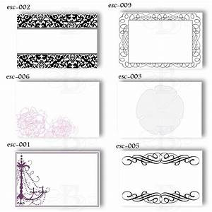 6 best images of free printable wedding place cards free With templates for place cards for weddings