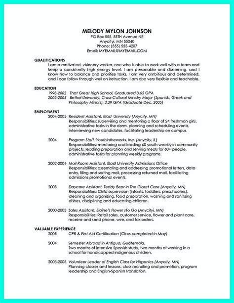 pin  resume template