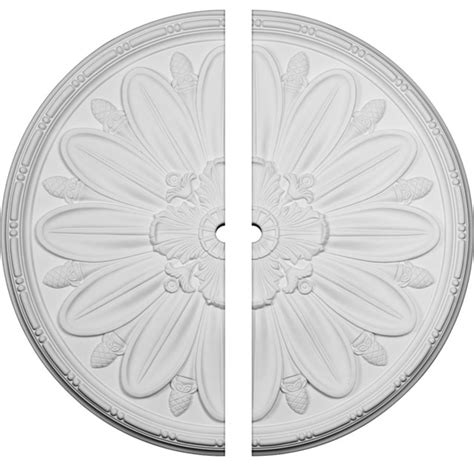 Two Ceiling Medallions by 40 Quot Od X 2 Quot Id X 1 7 8 Quot P Delfina Ceiling Medallion Two