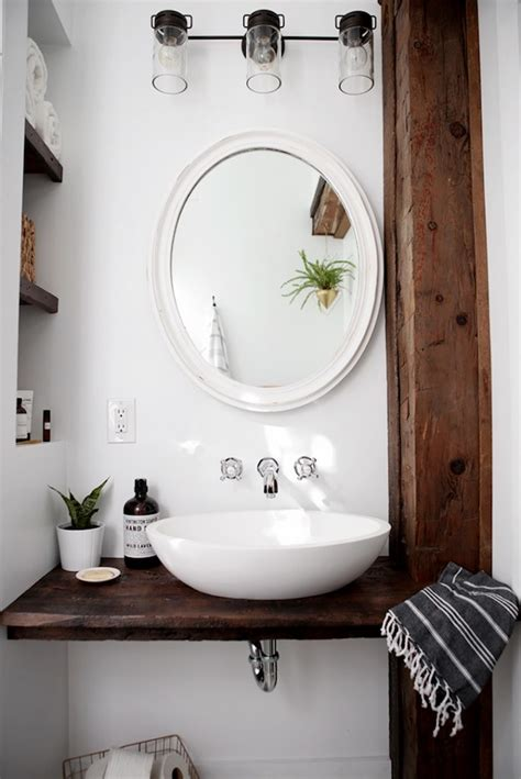 diy floating sink shelf creative diy bathroom ideas on a
