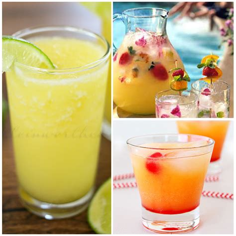 delicious summer drink recipes  alcoholic
