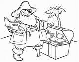 Coloring Pirate Printable Trek Ship sketch template