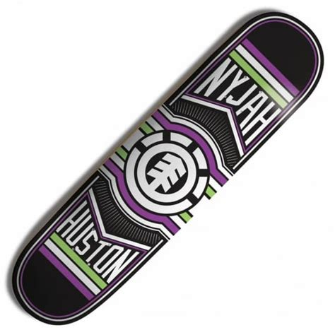 element skateboards nyjah huston ride skateboard deck 8