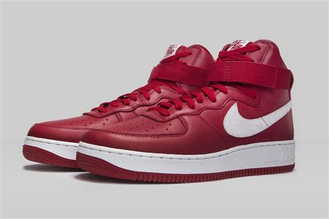 nike air force 1 high nai ke gym red sneaker bar detroit