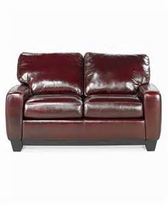 hton leather sofa bed full sleeper furniture macy s