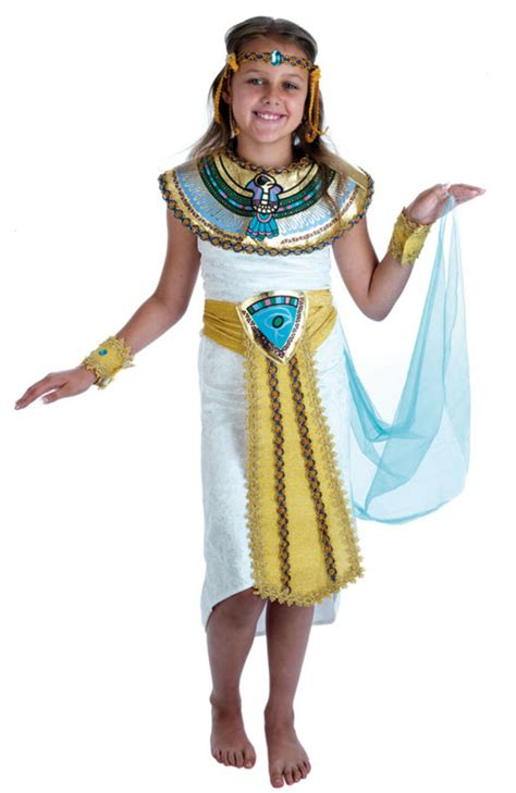 Girls Egyptian Costume | Girlu0026#39;s World Book Day Fancy Dress Costumes | Mega Fancy Dress