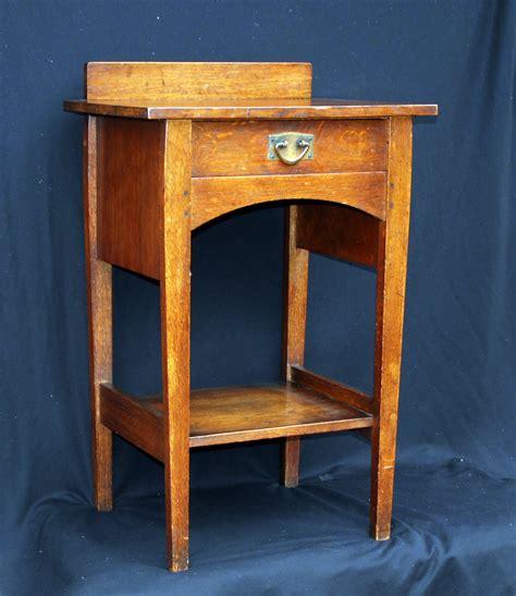 Voorhees Craftsman Mission Oak Furniture Very Rare