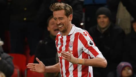 Stoke City Star Peter Crouch Shows Gratitude to Club After ...