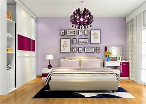 Purple Romantic Bedroom Designs